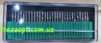 Комплект алмазных шарошек 30шт (Серебро) 0