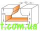 Пазовая T-образная фреза CMT 950.601.11 (30x8x12x60) T-SLOT 0