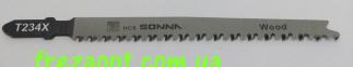 Пилочки для лобзика SONNA T234X-5 (Прямое чистое пиление) 2-65 2