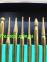 Комплект алмазных шарошек 30шт (Золото) 2