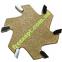 Фреза для слэбов Easy Tool Planer Bits Z6 D50 h7 d8 L70 4