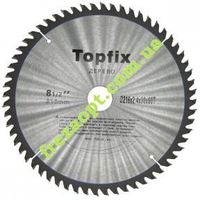 Пильный диск Topfix Ø216*2.4*1.7*Ø30 Z60 (Поперечное пиление)