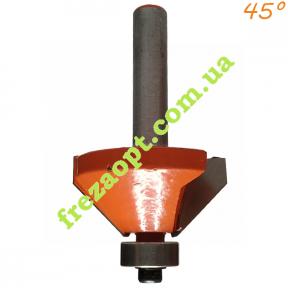 Кромочная фреза Sekira 18-015-350 RED 45°