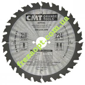 Пильный диск CMT 290.210.24M (210x30x2,8x1,8) 24Z