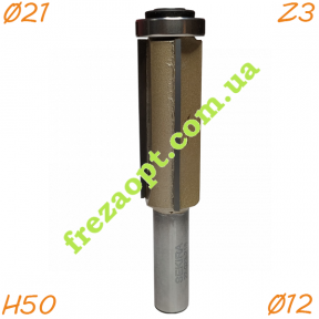 Кромочная фреза Sekira 22-023-215 Z3 (Ø21*50*Ø12)