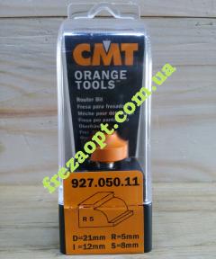 Концевая фреза для филенки и кромок CMT 927.050.11 R5 (21x12x8x44)