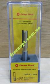 Фреза прямая Easy Tool 1003 D8 H25 d8 L62