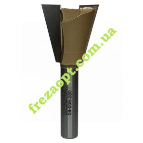 Фреза ласточкин хвост Sekira 08-006-250 14° (Ø25*25*Ø8*60)