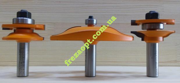 Комплект фрез для обвязки и филёнки CMT 900.513.11 (хвостовик 12,0мм)