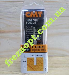 Пальчиковая фреза CMT 174.030.11 (3x10x8x55) Z2+1