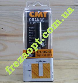 Погружная пальчиковая фреза CMT 174.102.11 (10x30x8x70) Z2+1