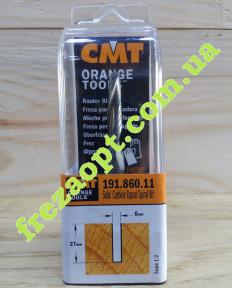 Спиральная чистовая фреза CMT 191.860.11 Z2 (6x27x8x70)