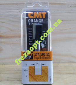 Погружная пальчиковая фреза CMT 174.160.11 (16x20x8x70) Z2+1