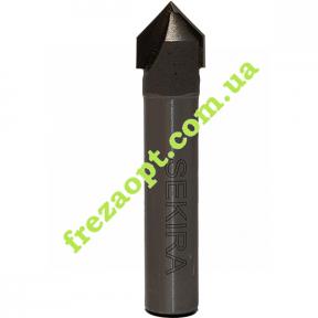 Конусная фреза Sekira 08-005-100 90° D10 H10 d8 L45 // 1004