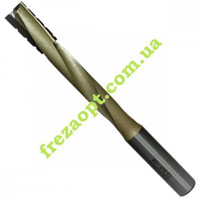 Спиральная фреза для пазов Sekira 12-307-128 Z2+1 (Ø12*25*Ø12*130)