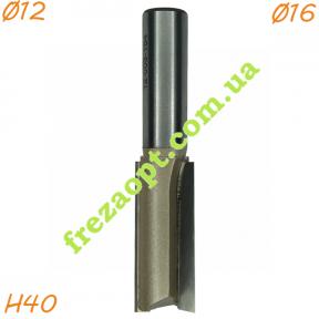 Пальчиковая фреза по дереву Sekira 12-003-164 (Ø16*40*Ø12) Z2
