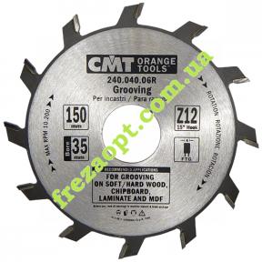 Дисковая пазовая пила CMT 240.040.06R Z12 (150x4,0x3,0x35)