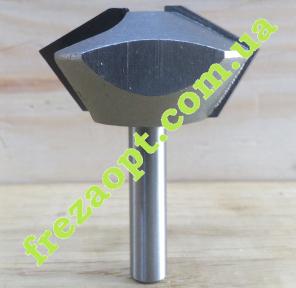 Фреза для сборки многоугольных конструкций Globus 2516 D45 H22 d8 L57