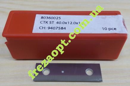 Сменные лезвия Ceratizit 80360025 (40x12x1,5)KCR08
