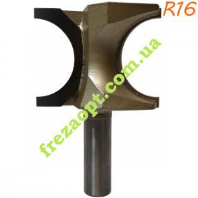 Фреза штап Глобус® 1014 R16 D52 h32 d12