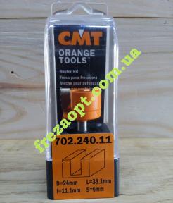 Пальчиковая фреза CMT 702.240.11 (Ø24x11,1xØ6x38,1)