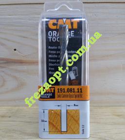 Чистовая  спиральная фреза  CMT 191.081.11 Z2 (8x32x8x70)