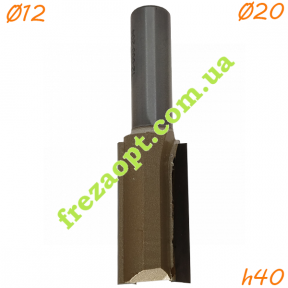Пазовая фреза по дереву Sekira 12-003-204 (Ø20*40*Ø12) Z2
