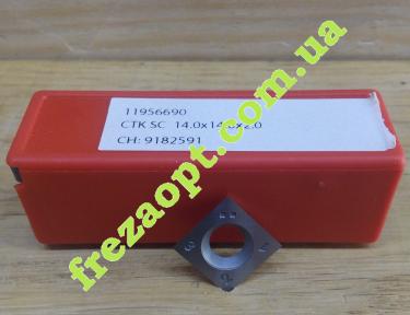 Сменные ножи на фрезы и строгальные ножи Ceratizit 11956690 (14x14x2) KCR02+