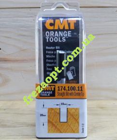 Погружная пальчиковая фреза CMT 174.100.11 (10x20x8x60) Z2+1