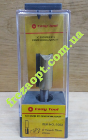Фреза прямая Easy Tool 1003 D15 H30 d8 L63