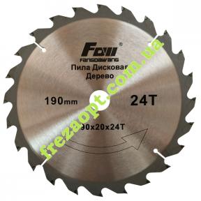 Пильный диск FOW 190x20x24Z