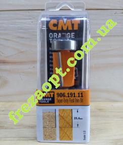 Прямая кромочная фреза CMT 906.191.11 (Ø19x25,4xØ8x74)