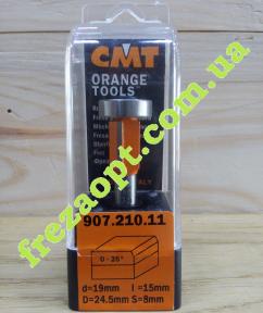 Концевая универсальная фреза CMT 907.210.11 0-25 (24,5x15x8x56,4)