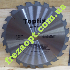 Пильный диск Topfix 300x3,0x2,0x32 Z24