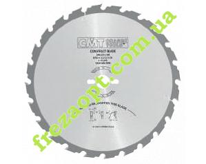 Пильный диск для строительной древесины CMT 286.020.12M (300x30x2,8x1,8) 20Z