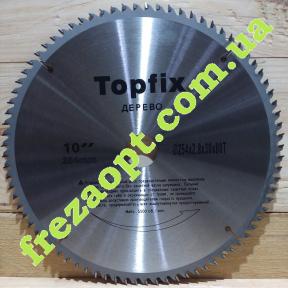 Торцовочный диск Topfix 254x2,8x1,8x30 Z80
