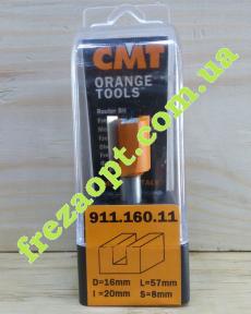 Пальчиковая фреза CMT 911.160.11 (16x20x8x57)