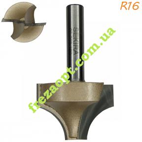 Фасонная радиусная фреза Sekira 08-018-160 R16 (Ø35*25*Ø8) C10