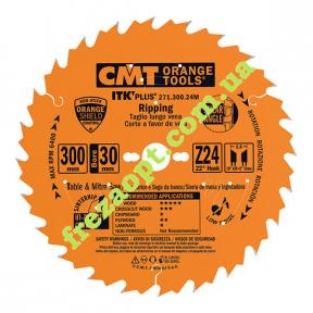 Пильный диск CMT 271.300.24M (300x30,x2,6x1,8) Z24