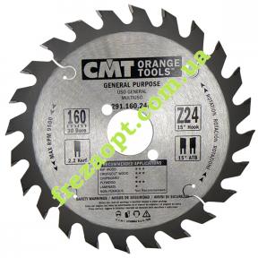 Пильный диск CMT 291.160.24M (160x30x2,2x1,6) 24Z