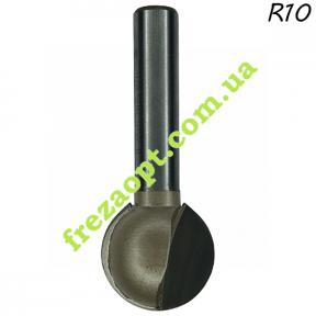 Фреза сфера Глобус® 1010 R10 D20 H19 d8 L53