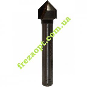 Конусная фреза Sekira 06-005-100 90° D10 H10 d6 L45