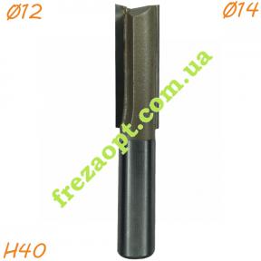Пазовая фреза Sekira 12-003-144 (Ø14*40*Ø12) Z2