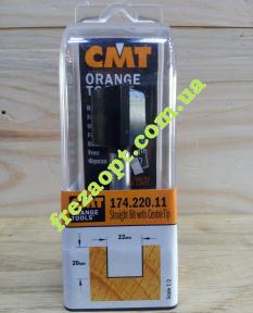 Погружная пальчиковая фреза CMT 174.220.11 (22x20x8x70) Z2+1