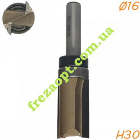 Прямая кромочная фреза Sekira 18-027-163 (Ø16*30*Ø8) Z2