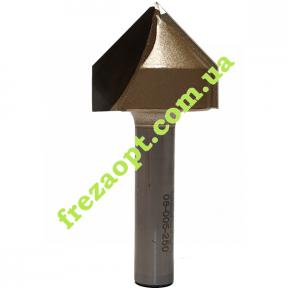 Конусная фреза Sekira 08-005-250 (90° D25 H20,7 d8 L55) // 1004