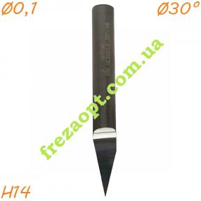 Коническая фреза WPW SE30013 30° (Ø0.1*Ø6*14*Ø6*49) Z1