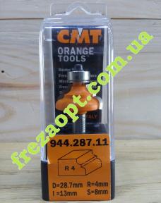 Концевая профильная фреза CMT 944.287.11 R4 (28,7x13x8x56)