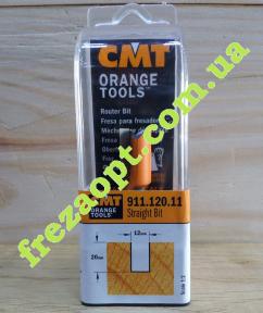 Пальчиковая фреза CMT 911.120.11 (Ø12x20xØ8x50)