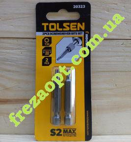 Комплект бит TOLSEN 20323 (T20x50,0мм) (2шт)